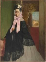 Thérèse De Gas (1842-1895), soeur de l'artiste, plus tard Mme Edmond Morbilli (morte en 1897) (Degas Edgar) - Muzeo.com