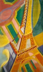 Eiffel Tower (Robert Delaunay) - Muzeo.com
