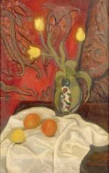 Tulipes jaunes (La Fresnaye Roger de) - Muzeo.com