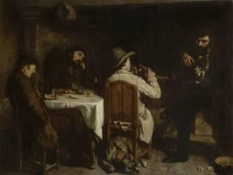 Un après-dîner à Ornans (Courbet Gustave) - Muzeo.com
