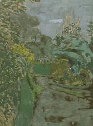 Une allée au bois de Boulogne (Vuillard Edouard) - Muzeo.com