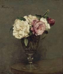 Vase de fleurs (Fantin-Latour Henri) - Muzeo.com