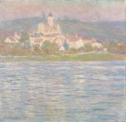 Vétheuil, effet gris (Monet Claude) - Muzeo.com