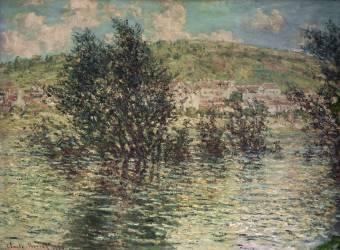 Vétheuil, vu de Lavacourt (Monet Claude) - Muzeo.com