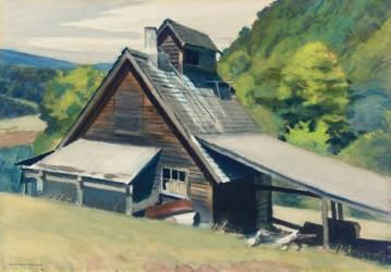 Vermont Sugar House (Hopper Edward) - Muzeo.com