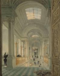 Vue de l'escalier du château des Tuileries (Viollet-Le-Duc Eugène) - Muzeo.com