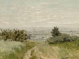Vue de plaine à Argenteuil, coteaux de Sannois (Monet Claude) - Muzeo.com