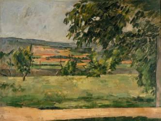 Vue prise du Jas de Bouffan (Cézanne Paul) - Muzeo.com