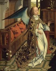 Détail de L'Annonciation (Van der Weyden Rogier) - Muzeo.com