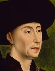 Philippe le Bon, duc de Bourgogne (1396-1467) (anonyme) - Muzeo.com