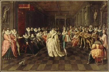 Bal donné au Louvre (anonyme) - Muzeo.com