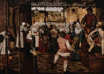 Danse de paysans (anonyme) - Muzeo.com