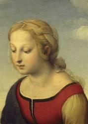 Détail de La Vierge à l'Enfant avec le petit saint Jean-Baptiste dite