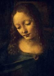 La Vierge, l'Enfant Jésus, saint Jean-Baptiste et un ange, dite la Vierge aux rochers (De Vinci Léonard) - Muzeo.com