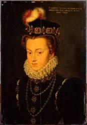 Elisabeth d'Autriche (1554-1592), reine de France (Clouet François (atelier de)) - Muzeo.com