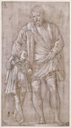 Giuseppe da Porto et son fils Adriano (Véronèse Paul) - Muzeo.com