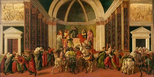 The Story of Virginia (Botticelli Sandro) - Muzeo.com