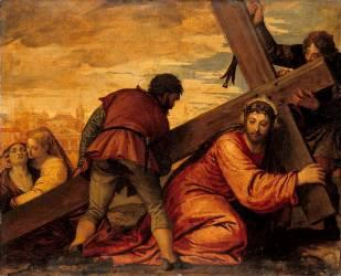 Jésus succombant sous le poids de la croix (Véronèse Paul) - Muzeo.com