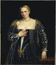 La Belle Nani (portrait de femme) (Véronèse Paul) - Muzeo.com