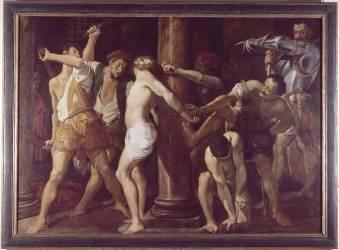 La flagellation (Carrache Lodovico) - Muzeo.com