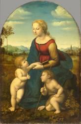 La Vierge à l'Enfant avec le petit saint Jean-Baptiste dite