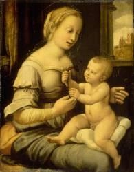 La Vierge à l'Oeillet (Raphaël) - Muzeo.com