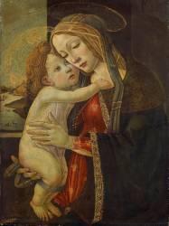 Madonna and child (Botticelli Sandro) - Muzeo.com