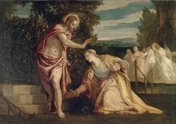 Le Christ apparaissant à la Madeleine - Noli me tangere (Véronèse Paul) - Muzeo.com