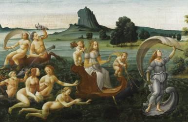 Le Cortège de Thetis (Bartolomeo di Giovanni) - Muzeo.com