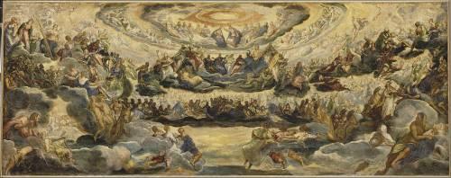 Le Paradis (Le Tintoret (dit), Robusti...) - Muzeo.com