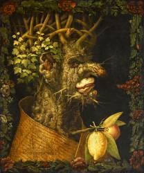 L'Hiver (Arcimboldo Giuseppe) - Muzeo.com