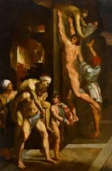 L'incendie du Borgo à Rome (Raphaël) - Muzeo.com