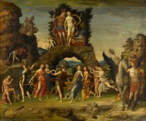 Mars et Vénus dit le Parnasse (Mantegna Andrea) - Muzeo.com