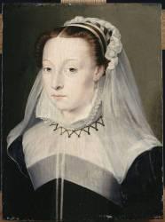 Portrait de femme dit autrefois : Antoinette d'Orléans, duchesse de Retz (Clouet François (atelier de)) - Muzeo.com