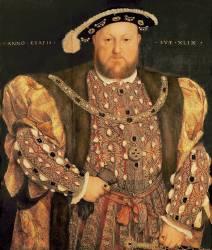 Portrait of Henry VIII (1491-1547) aged 49 (Holbein Hans) - Muzeo.com