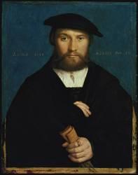 Portrait of Hermann Hillebrandt Wedigh (Holbein Hans) - Muzeo.com