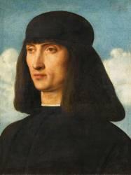 Portrait d'homme (Bellini Giovanni) - Muzeo.com