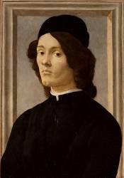 Portrait of a man (Botticelli Sandro) - Muzeo.com