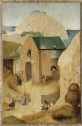 Saint Jacques et le magicien Hermogène; Un prieuré antonin (Bosch Jérôme (dit), van...) - Muzeo.com