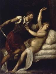 Tarquin et Lucrèce (Titien) - Muzeo.com