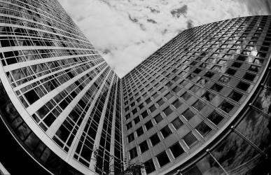 Immeuble à Montparnasse - Paris- 1975 (Bloncourt Gérald) - Muzeo.com