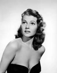 La comedienne americaine Rita Hayworth (1918-1987) dans le film