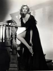 L'actrice suedoise Anita Ekberg (nee en 1931) en 1953. (anonyme) - Muzeo.com
