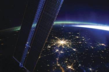 Moscow at Night (Nasa) - Muzeo.com
