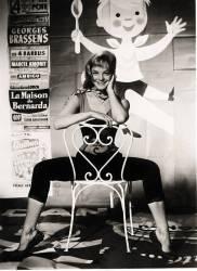 Portrait de l'actrice autrichienne ROMY SCHNEIDER (1938-1982) dans