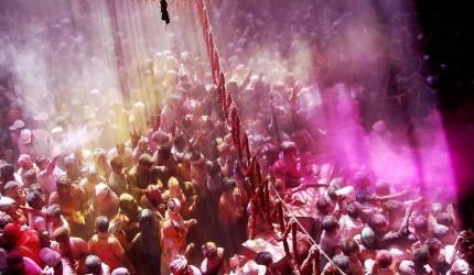 Holi Festival in India (Xinhua) - Muzeo.com