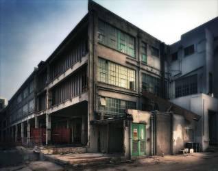 Construction site and abandoned building (Calverley Julian) - Muzeo.com