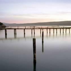IN*USA, California, Bodega Bay, jetty (anonyme) - Muzeo.com