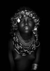 Dassanech girl, Omo Valley, Ethiopia (Lafforgue Eric) - Muzeo.com