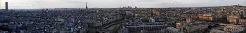 Paris from Notre Dame (Jérome Prince) - Muzeo.com